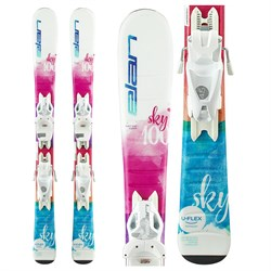 Elan Sky QS Skis ​+ EL 7.5 Bindings - Girls'