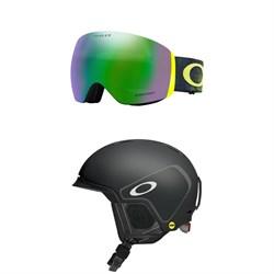 Oakley Flight Deck Goggles + Oakley MOD 3 MIPS Helmet