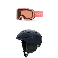 Smith Drift Goggles + Smith Mirage MIPS Helmet - Women's
