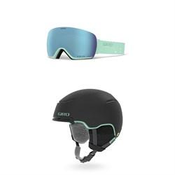 Giro Lusi Goggles + Giro Terra MIPS Helmet - Women's