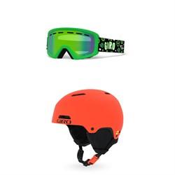Giro Rev Goggles + Giro Crue MIPS Helmet - Little Kids'