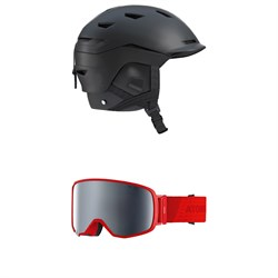 Salomon Sight Helmet ​+ Atomic Revent L FDL HD Goggles