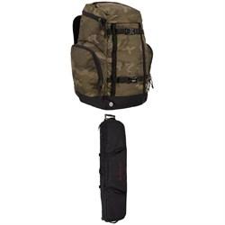 Burton Booter Backpack + Burton Wheelie Locker Snowboard Bag