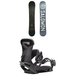 Salomon Sight X Snowboard ​+ Trigger X Snowboard Bindings