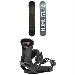 Salomon Sight X Wide Snowboard ​+ Trigger X Snowboard Bindings