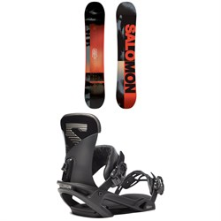 Salomon Pulse Snowboard ​+ Trigger X Snowboard Bindings 2020