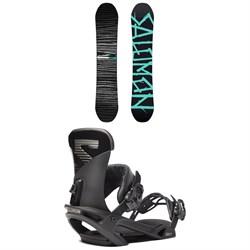 Salomon Craft X Snowboard 2019 + Trigger X Snowboard Bindings