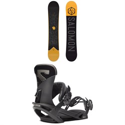 Salomon Sight Snowboard ​+ Trigger X Snowboard Bindings 2020