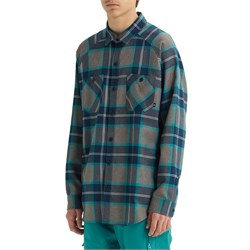 Analog Transmission Long-Sleeve Flannel Shirt