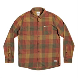 Quiksilver Motherfly Long-Sleeve Flannel Shirt