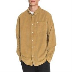 Quiksilver Smoke Trail Long-Sleeve Corduroy Shirt