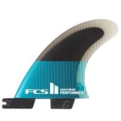 FCS II Performer PC Large Quad Fin Set