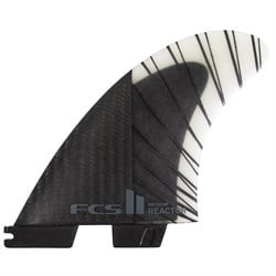 FCS II Reactor PC Carbon Large Tri Fin Set