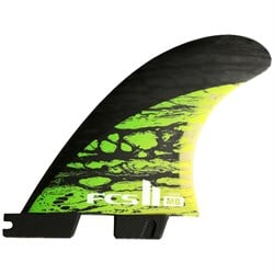 FCS II MB PC Carbon Medium Tri-Quad Fin Set