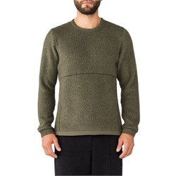 Holden Shearling Crew Sweater