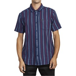 RVCA Displaced Stripe Short-Sleeve Shirt