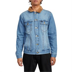 RVCA Daggers Denim Sherpa Jacket