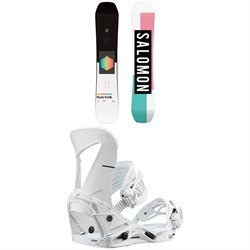 Salomon Huck Knife Snowboard ​+ Hologram Snowboard Bindings 2020