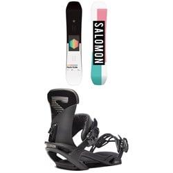Salomon Huck Knife Snowboard + Trigger X Snowboard Bindings 2020
