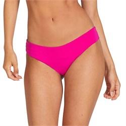 Volcom Simply Seam Cheeky Bikini Bottoms - Women's