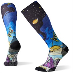 Smartwool PhD Ski Ultra Light Benchetler Print Socks