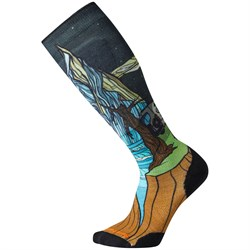 Smartwool PhD Ski Light Elite Benchetler Print Socks