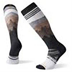 Smartwool PhD Ski Medium Alpenglow Pattern Socks