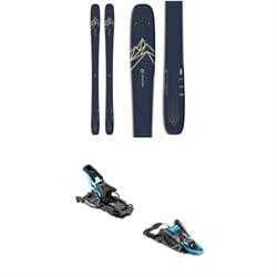 Salomon QST 99 Skis + Salomon S/Lab Shift Alpine Touring Ski Bindings 2020