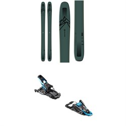 Salomon QST 118 Skis ​+ Salomon S​/Lab Shift Alpine Touring Ski Bindings