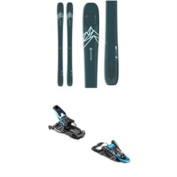 Salomon QST Lux 92 Skis ​+ Salomon S​/Lab Shift Alpine Touring Ski Bindings - Women's 2020