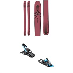 Salomon QST Stella 106 Skis ​+ Salomon S​/Lab Shift Alpine Touring Ski Bindings - Women's 2020