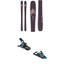 Salomon QST Lumen 99 Skis ​+ Salomon S​/Lab Shift Alpine Touring Ski Bindings - Women's 2020