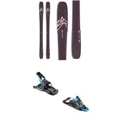 Salomon QST Lumen 99 Skis + Salomon S/Lab Shift Alpine Touring Ski Bindings - Women's 2020