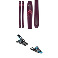 Salomon QST Myriad 85 Skis ​+ Salomon S​/Lab Shift MNC Alpine Touring Ski Bindings - Women's