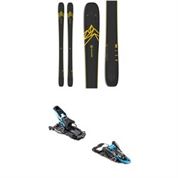 Salomon QST 92 Skis ​+ Salomon S​/Lab Shift MNC Alpine Touring Ski Bindings