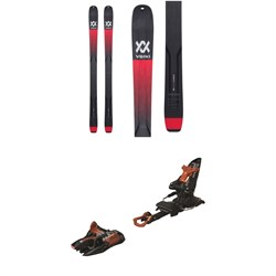 Volkl Mantra V-Werks Skis ​+ Marker Kingpin 10 Alpine Touring Ski Bindings 2020