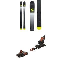 Volkl V-Werks Katana Skis + Marker Kingpin 10 Alpine Touring Ski Bindings