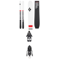Black Diamond Helio Recon 95 Skis 2020 ​+ Atomic Shift MNC 13 Alpine Touring Ski Bindings 2020