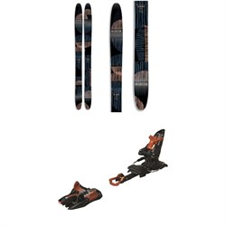 Coalition Snow La Nieve Skis 2020 ​+ Marker Kingpin 10 Alpine Touring Ski Bindings - Women's 2020