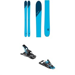 DPS Wailer T106 C2 Skis ​+ Salomon S​/Lab Shift MNC Alpine Touring Ski Bindings 2020