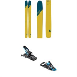 DPS Wailer T112 RP Skis 2020 ​+ Salomon S​/Lab Shift MNC Alpine Touring Ski Bindings 2020