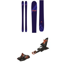 DPS Uschi A87 C2 Skis 2020 ​+ Marker Kingpin 10 Alpine Touring Ski Bindings - Women's 2020
