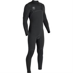 Vissla 7 Seas Power Seam 3/2 Chest Zip Wetsuit + Vissla 7 Seas 3mm Split Toe Wetsuit Boots