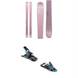 Faction Agent 2.0X Skis 2020 ​+ Salomon S​/Lab Shift MNC Alpine Touring Ski Bindings - Women's 2020