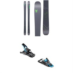 Faction Agent 2.0 Skis 2020 ​+ Salomon S​/Lab Shift MNC Alpine Touring Ski Bindings 2020