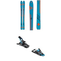Fischer Hannibal 96 Carbon Skis 2020 ​+ Salomon S​/Lab Shift MNC Alpine Touring Ski Bindings 2020