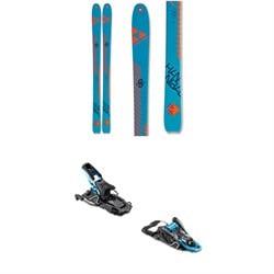 Fischer Hannibal 96 Carbon Skis 2020 + Salomon S/Lab Shift MNC Alpine Touring Ski Bindings 2020