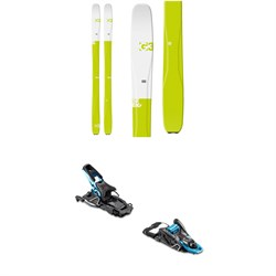 G3 SEEKr 100 Skis 2020 ​+ Salomon S​/Lab Shift MNC Alpine Touring Ski Bindings 2020