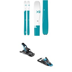 G3 SEEKr 100 Elle Skis - Women's 2020 ​+ Salomon S​/Lab Shift MNC Alpine Touring Ski Bindings 2020