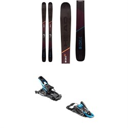 Head Kore 99 W Skis 2020 ​+ Salomon S​/Lab Shift MNC Alpine Touring Ski Bindings - Women's 2020
